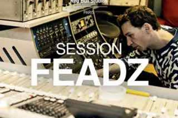 Feadz Red Bull studio Paris session